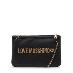 e37702e47078 Love Moschino Bags - Love Moschino Womens Black Quilted Clutch